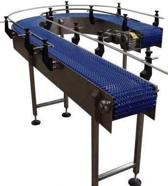 180 Degree Belt Conveyors