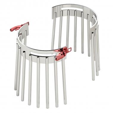 Innovative split cage design